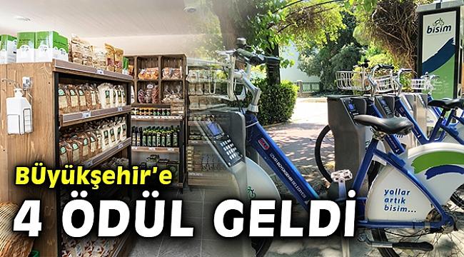 İzmir Büyükşehir'e dört ödül birden