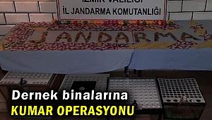 İzmir'de dernek binalarına kumar operasyonu
