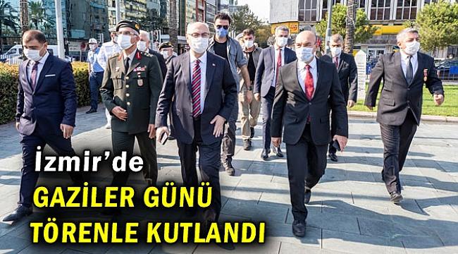 İzmir'de Gaziler Günü törenle kutlandı