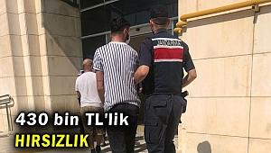 İzmir'de hırsızlık şüphelisi 4 kişi yakalandı