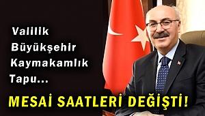 İzmir'de kamu kurumlarının mesai saatleri değişti