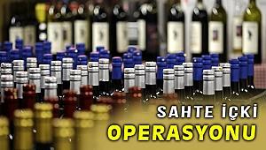 İzmir'de sahte içki operasyonunda 7 gözaltı