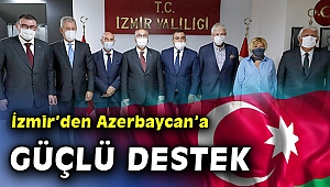İzmir'den' Azerbaycan'ın yanındayız' mesajı
