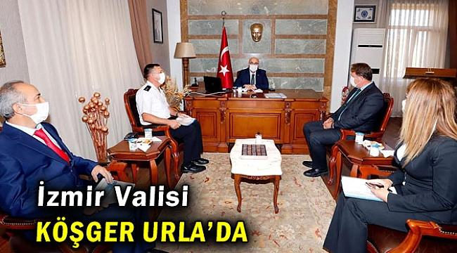 İzmir Valisi Köşger Urla'da