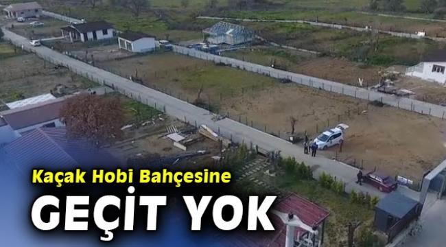 Kaçak Hobi Bahçesine Güzelbahçe Belediyesi'nden geçit yok