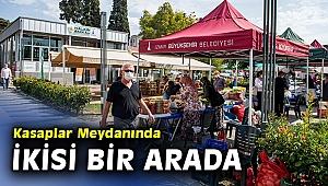 Kasaplar Meydanına hem Halkın Bakkalı hem de üretici pazarı
