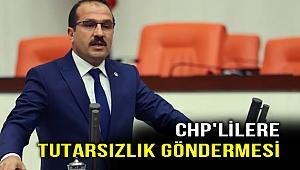 Kırkpınar'dan CHP'lilere tutarsızlık göndermesi