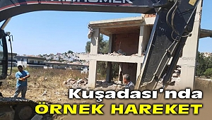 Kuşadası'nda, 1500 yıllık ağacın yanına yapılan villa yıkıldı!