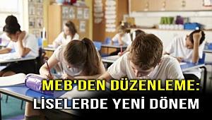 MEB açıkladı! Liselerde yeni dönem başlıyor!