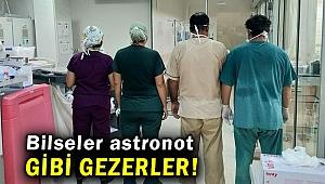 Prof. Dr. Yılmaz, 'Şartlarımızı görmüş olsalardı sokakta astronot gibi gezerlerdi'
