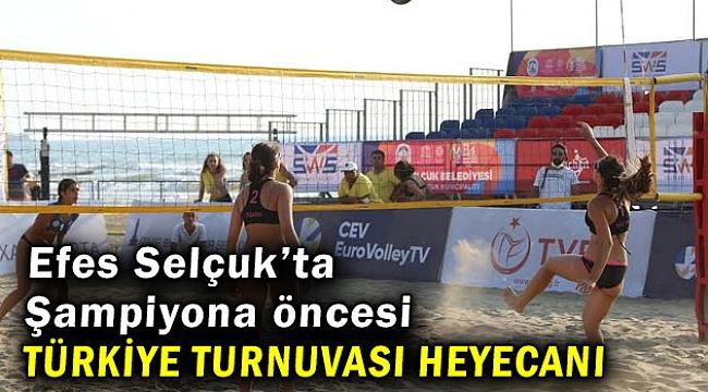 Şampiyona öncesi Türkiye Turnuvası heyecanı