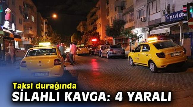 Taksi durağında silahlı kavga: 4 yaralı