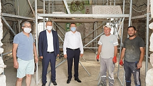 Tarihi Kadı Camii restorasyon çalışmalarında sona yaklaşıldı