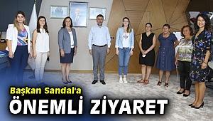 Toplumsal Cinsiyet Eşitliği Komisyonu'ndan Başkan Sandal'a ziyaret