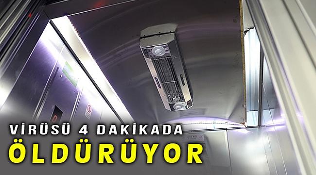 Türk şirketi virüsleri 4 dakikada yok edebilen cihaz üretti