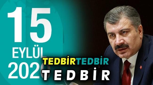 Türkiye'de son 24 saatte 1742 kişiye Kovid-19 tanısı konuldu