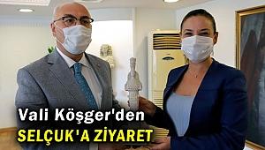 Vali Köşger'den Başkan Selçuk'a ziyaret!