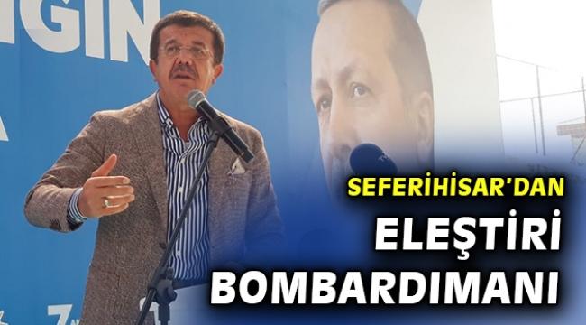ZEYBEKÇİ: İZMİR'İ ÇÖPE ATMALARINA İZİN VERMEYECEĞİZ!