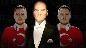 29 Ekim'de Atatürk'ün sesi ile şarkı yaptı!