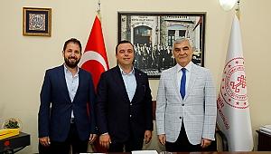 Ahmet Aydın'dan kütüphane müjdesi