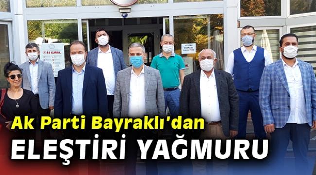 AK Parti Bayraklı'dan Başkan Sandal'a 550 gün eleştirisi