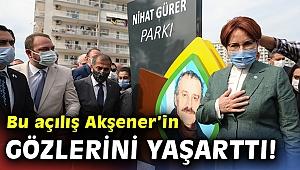 Akşener,İzmir'de ağabeyinin ismini taşıyan parkı açtı