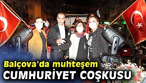 Balçova'da muhteşem Cumhuriyet Coşkusu