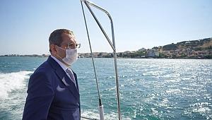 Başkan Ergin, 'Körfezde deniz itfaiyesi acil kurulmalı'