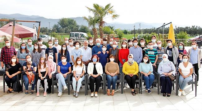 Başkan Eriş, LGS'de başarılı olan öğrencilerle buluştu