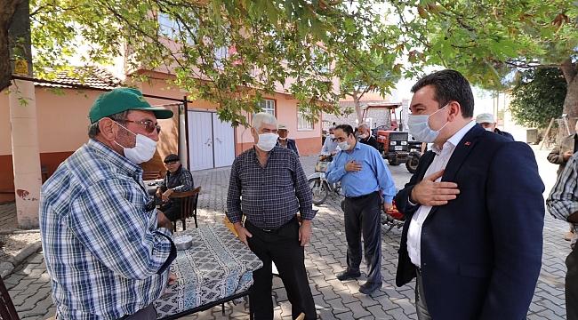 Başkan Koştu'dan yağmur ve rüzgârdan etkilenen mahalleleri inceledi