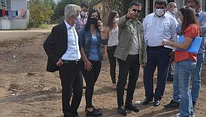 Başkan Ömer Günel  kentin nabzını sokakta tutuyor