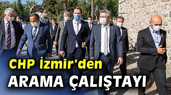Başkan Soyer Arama Çalıştayı'nda konuştu; Başka bir Türkiye mümkün...