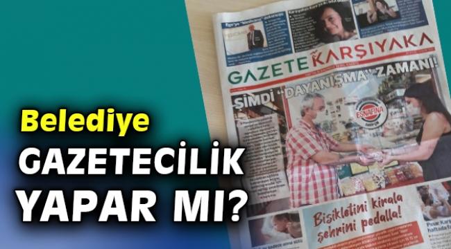 'Belediye Gazetesi'ne tepki yağdı