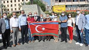 Bornova'dan Azerbaycan'a Tam Destek