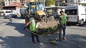 Bozköy mahallesi'nde hummalı çalışma
