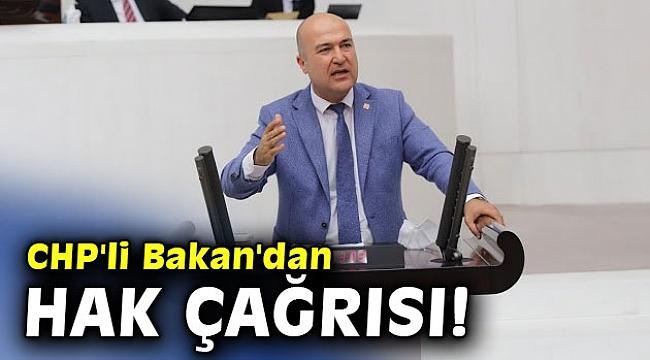 CHP'li Bakan'dan hastane çalışanları için hak çağrısı!