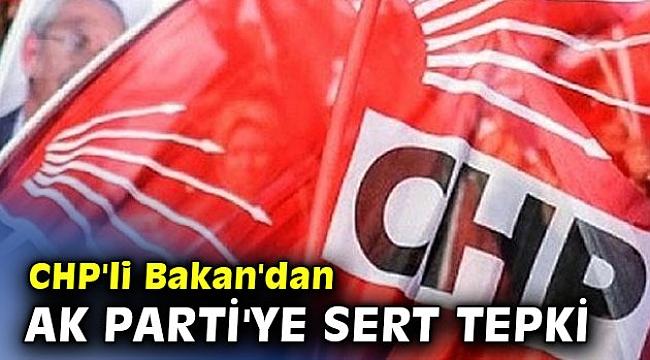 CHP'li Murat Bakan'dan Ak Parti'ye sert tepki