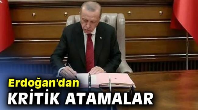 Erdoğan'dan Hazine ve Maliye Bakanlığı'na kritik atamalar