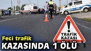 Feci trafik kazasında 1 ölü