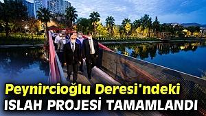 İzmir Büyükşehir Belediyesi, Peynircioğlu Deresi'ndeki ıslah projesini tamamladı!