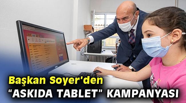 """İzmir'de """"askıda tablet"""" kampanyası"""