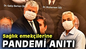 İzmir'de sağlık emekçileri için pandemi anıtı!