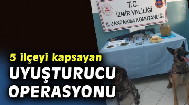 İzmir'de uyuşturucu operasyonlarında 6 kişi yakalandı