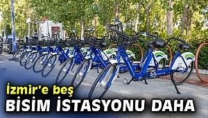 İzmir'e beş BİSİM istasyonu daha geliyor!