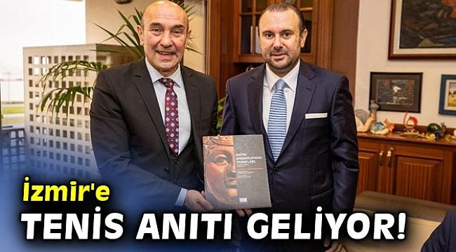 İzmir'e yakında tenis anıtı geliyor!