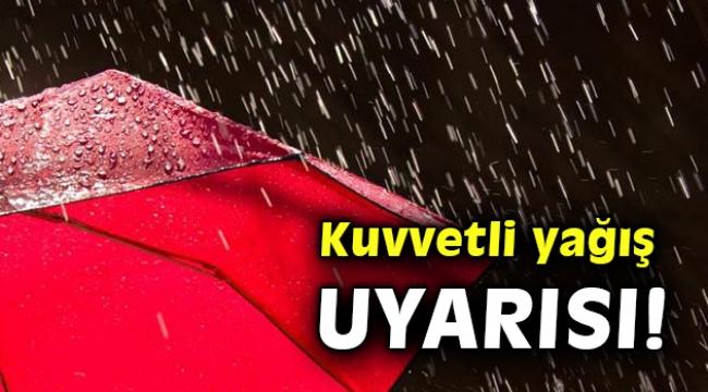 İzmir ve Ege için kuvvetli yağış uyarısı