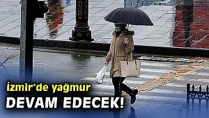 İzmirliler dikkat! Hafta içi yağış bekleniyor