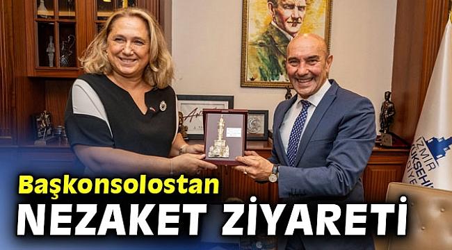 Kosova İstanbul Başkonsolosu'ndan Başkan Soyer'e ziyaret!