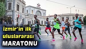 Maraton İzmir koşuldu ve...