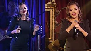 Merve Özbey'den muhteşem performans